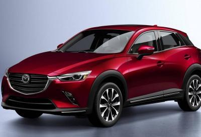 Mazda CX-3 restyling: in arrivo con il nuovo 1.8 diesel