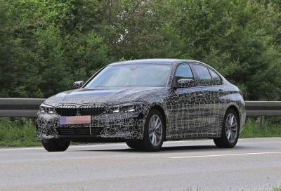 BMW Serie 3 MY19: proseguono i collaudi
