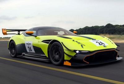 Aston Martin Vulcan: il debutto al Racing Festival di Le Mans