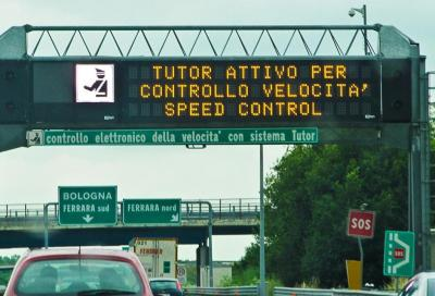Tutor autostradale: confermato lo spegnimento