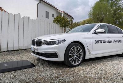 BMW 530e iPerformance: in arrivo la ricarica wireless