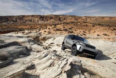 Land Rover: guida autonoma anche in off-road