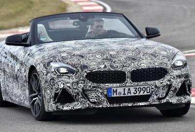 BMW Z4: le foto dei collaudi in pista