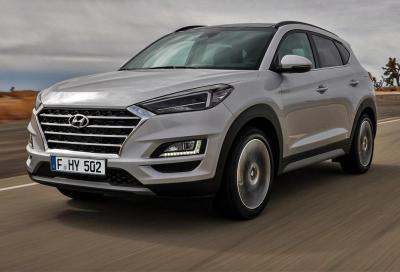Hyundai Tucson restyling: in arrivo l'ibrido diesel