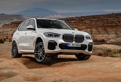 Nuova BMW X5: mai così faraonica