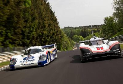 Porsche 919 Evo: a tutto gas al Ring