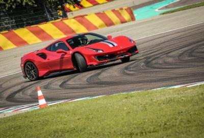 Ferrari 488 Pista - Primo contatto a Fiorano