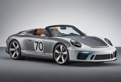 911 Speedster Concept: buon compleanno Porsche