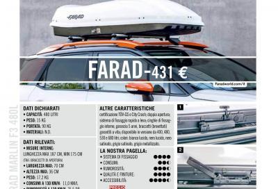 Farad Marlin F3 480L (431 euro): fino a 90 kg di carico