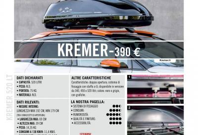 Kremer 520 LT (390 euro): silenziosità da podio
