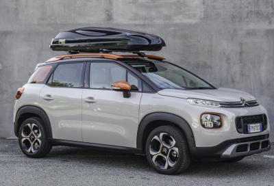 Box da tetto Bertoni Altro 500: aerodinamica che limita i consumi