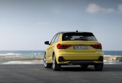 Nuova Audi A1: solo in variante Sportback a 5 porte