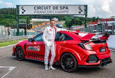 Honda Civic Type-R: a Spa-Francorchamp è di nuovo record