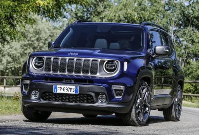 Jeep Renegade 2019: benvenuti motori turbo benzina