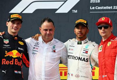 F1, Hamilton vince il GP di Francia, Vettel è solo quinto