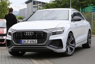 Audi SQ8: ibrida V6 o diesel V8?