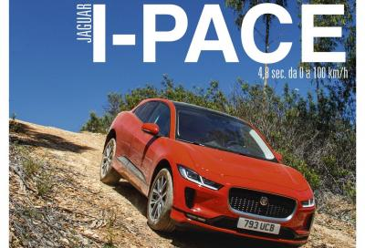 La Jaguar I-Pace è in copertina di Automobilismo di luglio
