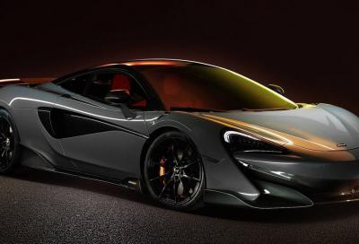 McLaren 600LT: più lunga e cattiva