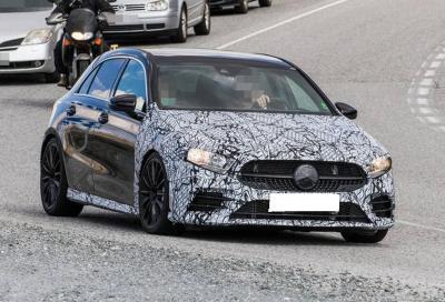 Mercedes-AMG A 35: dovrebbe erogare 300 CV