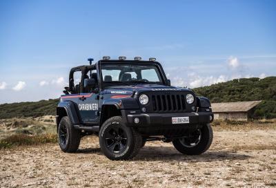 La Jeep Wrangler per i Carabinieri