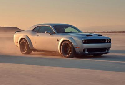 Dodge Challenger 2019: la coupé si aggiorna e tocca quota 809 CV
