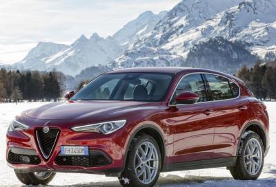 Alfa Romeo Stelvio: motori diesel più potenti e puliti