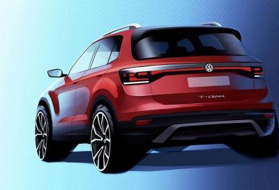Volkswagen T-Cross: nuovi teaser della SUV compatta