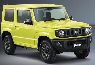 Nuova Suzuki Jimny: svelati i dettagli tecnici e i motori
