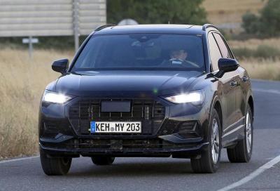 Audi Q3 2018: prime foto senza veli della seconda generazione