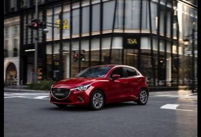 Mazda 2 MY18: solo motori benzina Euro 6d-Temp