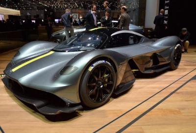 Aston Martin Valkyrie: al Ring più veloce della 919?