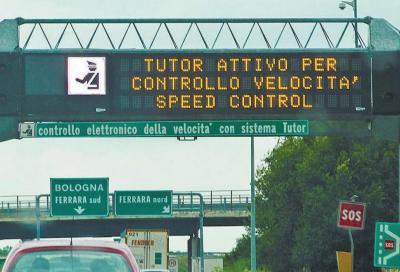 Nuovo Tutor autostrade: forse non verrà riattivato