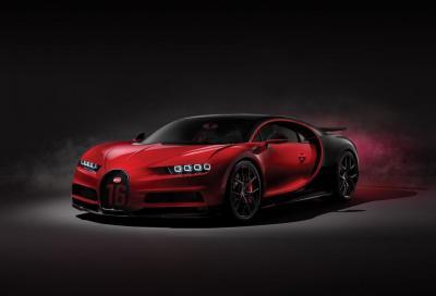 Bugatti Chiron Divo: la variante per la pista