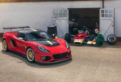 Lotus Exige: a Goodwood le Type 49 e 79