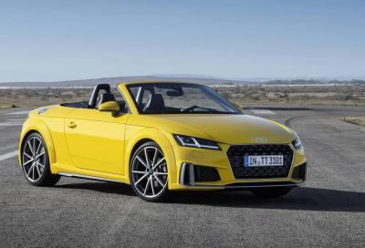 Audi TT: pronto il restyling di metà vita