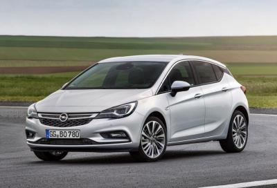 Opel Astra: ora con il 1.6 BiTurbo diesel
