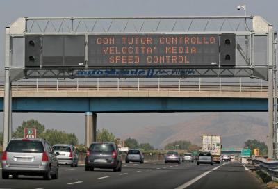 Tutor autostrade: da venerdì si fa sul serio