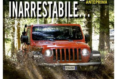 La nuova Jeep Wrangler è in copertina di Automobilismo di agosto