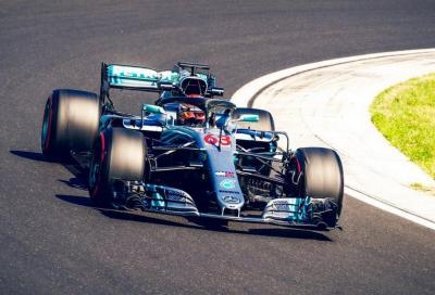 F.1, test Hungaroring: Russell leader della seconda giornata