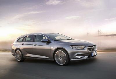 Opel Insignia: ora con il 1.6 HTP 200 Euro 6d-temp