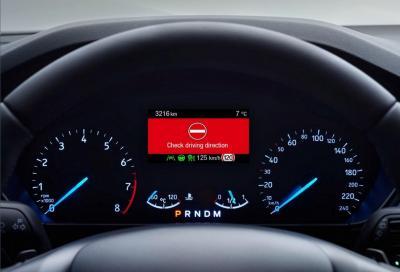 Ford: con la nuova Focus niente più contromano