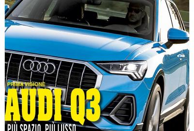 La nuova Audi Q3 è in copertina di Automobilismo di settembre