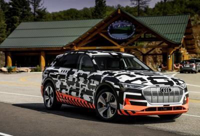 Audi e-tron Quattro: quanto recupera in frenata?