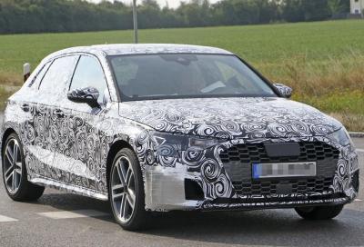 Nuova Audi A3: le prime foto della quarta generazione