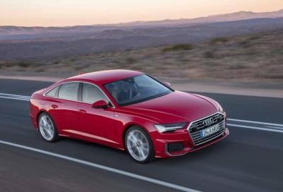Audi A6 e A7 Sportback: svelate le motorizzazioni mild-hybrid 40 TDI