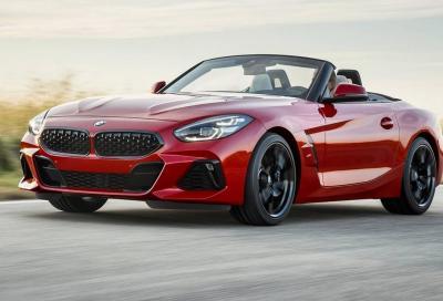 Nuova BMW Z4: si torna al tetto in tela