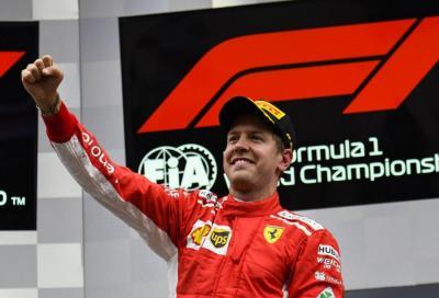 F1, Vettel vince in Belgio e suona la carica in vista di Monza