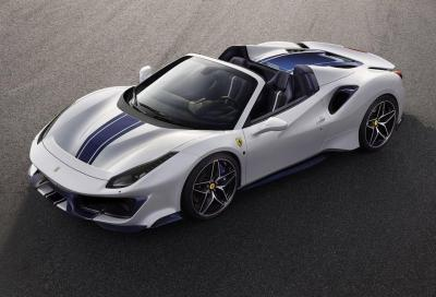 Ferrari 488 Pista Spider: a Pebble Beach en plein air