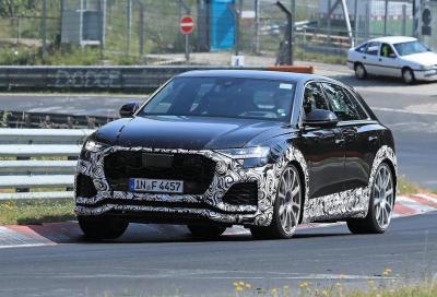 Audi RS Q8: ultimi collaudi al Nurburgring