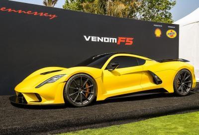 Hennessey Venom F5: svelati i dettagli tecnici